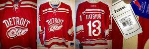 Detroit Redwings 2014 Winter Classic Jersey