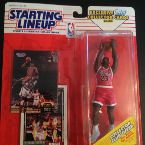 Michael Jordan 1993 Chicago Bulls Starting Lineup Toy figure