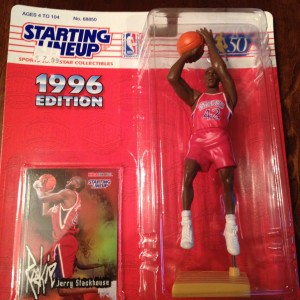Jerry Stackhouse Philadelphia 76ers Starting Lineup Figure
