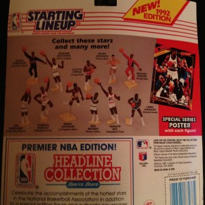 1992 Kenner Starting Lineup NBA Toy Figure Magic Johnson