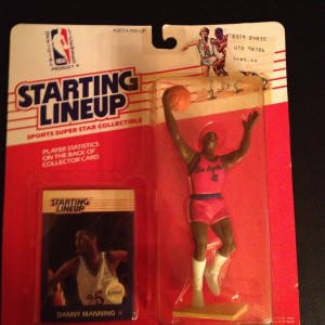 Danny Manning Los Angeles Clippers 1988 Starting Lineup NBA Toy Figure