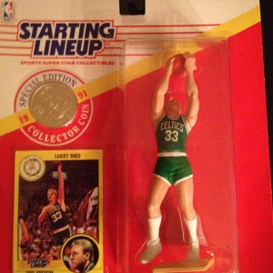 Larry Bird Boston Celtics Starting Lineup Toy Figure