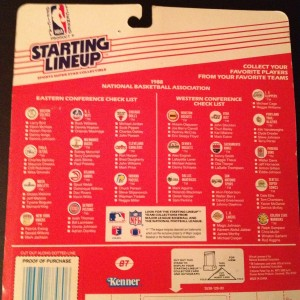 1988 NBA Kenner Starting Lineup Larry Bird