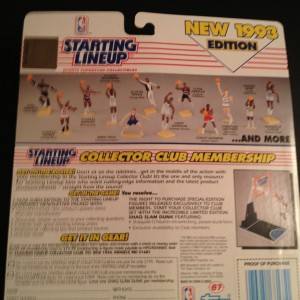 1993 nba starting lineup toy figure