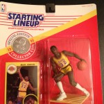 1991 Magic Johnson LA lakers starting lineup to