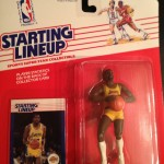 Magic Johnson Los angeles lakers 1988 starting lineup toy figure