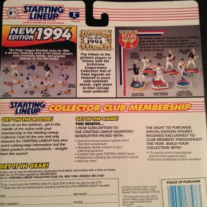 1994 MLB starting lineup kenny lofton back