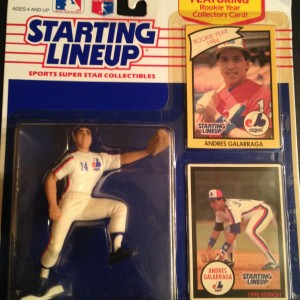 Andres Galarraga Montreal Expors Starting Lineup Toy Figure