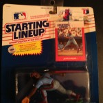 Juan Samuel Philadelphia Phillies Starting Lineup 1988
