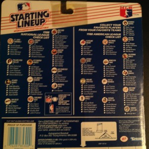 1988 MLB Starting Lineup toy figure