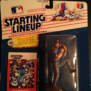 Steve Bedrosian Philadelphia Phillies 1988 Starting Lineup Toy Figure