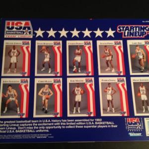 Starting Lineup Team USA Basketball Dream Team 1992 set