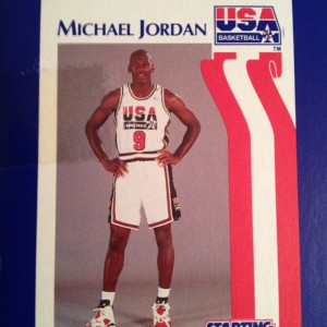 1992 Team USA Dream Team Michael Jordan