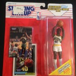 Shawn Kemp Seattle Supersonics Nba starting lineup to