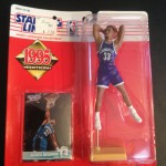 Alonzo Mourning Charlotter Hornets 1995 NBA Starting lineup toy figure