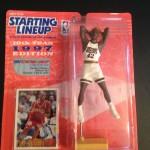 Jerry Stackhouse Philadelphia 76ers hasbro starting lineup toy figure 1997 nba