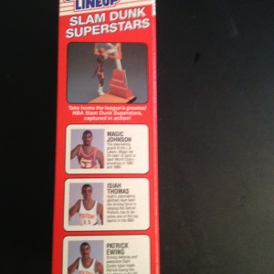 1989 Michael Jordan Chicago Bulls starting lineup slam dunk superstars