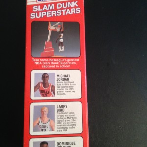 Michael Jordan Red Box Slam dunk superstars toy
