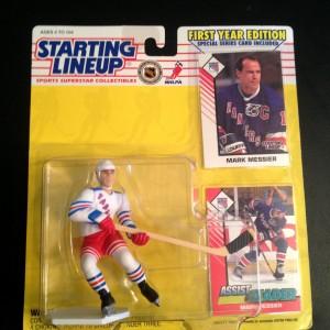 Mark Messier 1993 NY Rangers Starting Linenup