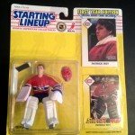Patrick Roy Montreal Canadians Starting LIneup 1993 toy figure