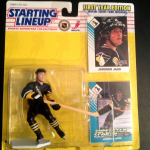 Jaromir Jagr Pittsburgh Penguins 1993 starting lineup