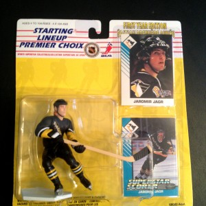 Jaromir Jagr Pittsburgh Penguins Starting Lineup 1993 nhl