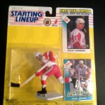 Steve Yzerman Detroit Redwings Starting lineup toy