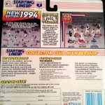 1994 MLB Starting Lineup back of package