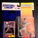 1994 Mike Piazza LA Dodgers mlb starting lineup toy figure