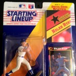 1992 Nolan Ryan Texas Rangers MLB Starting Lineup toy