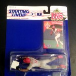 1995 mlb Deion Sanders Cincinnati Reds starting lineup toy figure