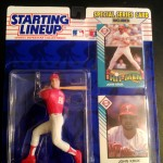 1993 John Kruk Philadelphia Phillies mlb starting lineup toy figure