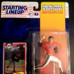 1994 Mike Mussina Baltimore Orioles MLB Starting lineup toy figure