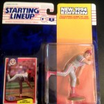 1994 Curt Schilling Philadelphia Phillies mlb starting lineup toy figure