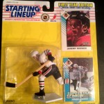 1993 jeremy roenick chicago blackhawks starting lineup toy figure