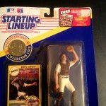 1991 Benito Santiago San Diego Padres mlb starting lineup toy figure