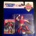 1995 Philadelphia Phillies Darren Daulton mlb starting lineup toy figure