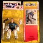 Artus Irbe San Jose Sharks 1994 nhl starting lineup toy figure