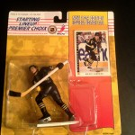 1994 Mario Lemeiux Pittsburgh Penguins starting lineup toy figure