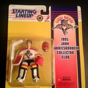 John Vanbiesbrouck Florida Panthers 1995 Starting Lineup Toy Figure