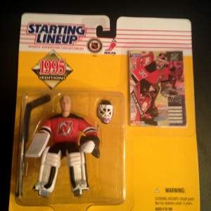 1995 Martin Brodeur New Jersey Devils Starting lineup toy figure