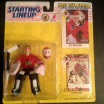 Ed Belfour Chicago Blackhawks 1993 starting lineup