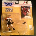 John leclair philadelphia flyers nhl 1996 starting lineup toy