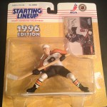 Eric Lindros philadelphia flyers 1996 starting lineup toy figure
