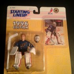 Jim Carey 1996 washington capitals starting lineup toy figure