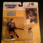 Joe Sakic Colorado avalanche starting lineup toy figure