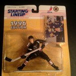 Pat Lafontaine Buffalo Sabres 1996 nhl starting lineup toy black jersey