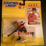 1997 Philadelphia Flyers eric lindros starting lineup toy figure
