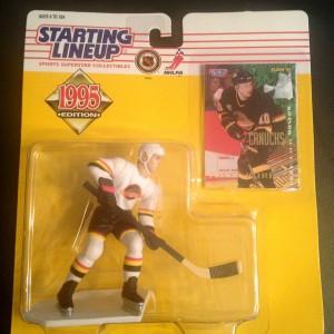 Pavel Bure Vancouver Canucks 1995 nhl starting lineup