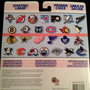 1997 nhl starting lineup back